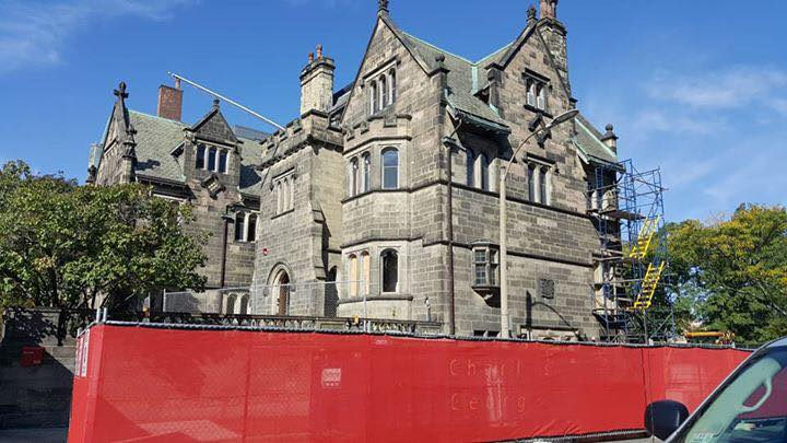 Boston University Castle Exterior