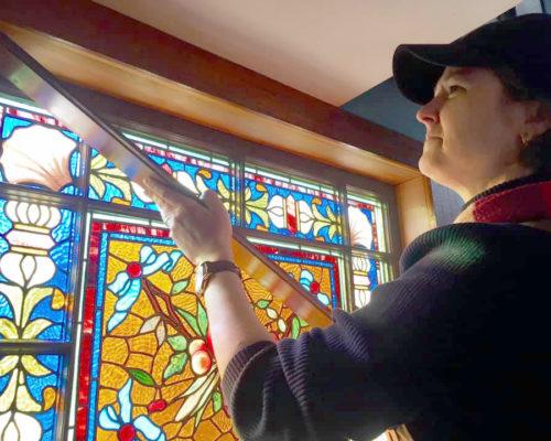 Cathryn Blackwells Leaded Glass